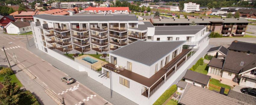 leiligheter hus i holmestrand til salgs