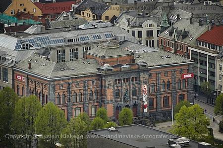 Bergen art museum. Kode 1. Nordahl Bruns gate 9. Vestlandske Kunstindustrimuseum  Designed by Henry Bucher