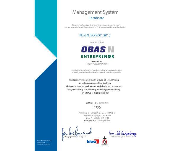 Obas-Øst-ISO-9001-2015v2